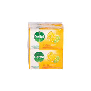 Load image into Gallery viewer, Dettol Antibacterial Soap Fresh 120grams | Pack of 4