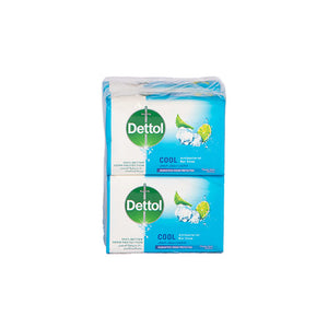 Load image into Gallery viewer, Dettol Antibacterial Soap Cool 165grams | Pack of 4