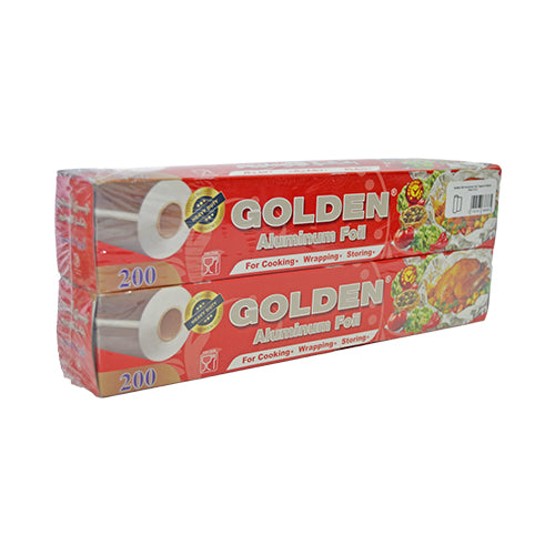 Golden 200 Aluminium Foil | Special Edition | Pack Of 2