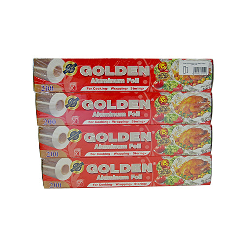 Golden 200 Aluminium Foil | Special Edition | Pack of 4