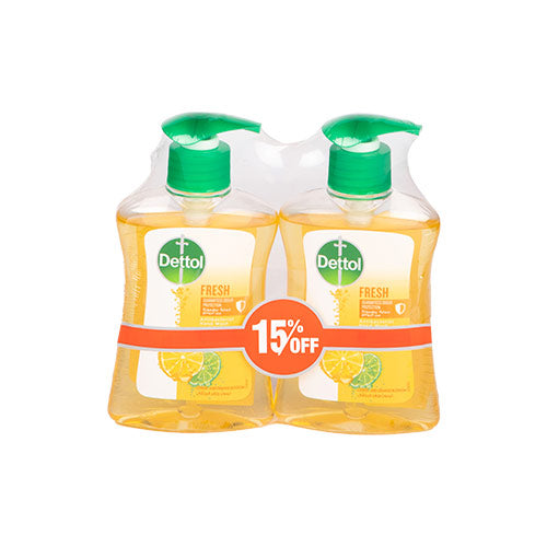 Dettol Fresh Hand Soap | 200ML | Twin Pack