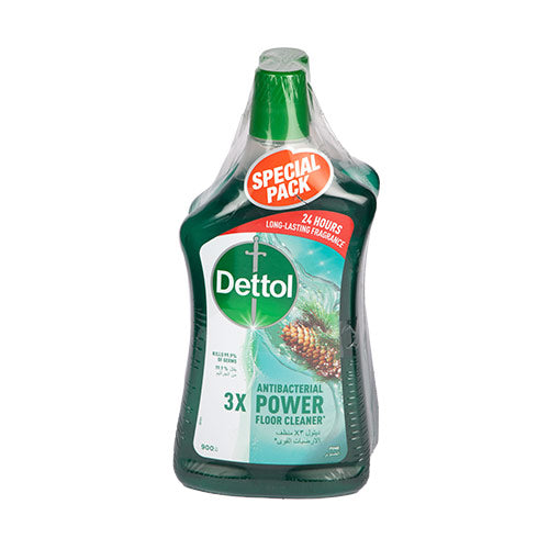 Dettol Antibac Floor Cleaner Pine | 900ML | Twin Pack