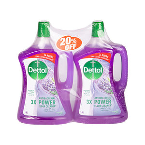 Load image into Gallery viewer, Dettol Antibac Floor Cleaner Lavender | 1.8L | Twin Pack