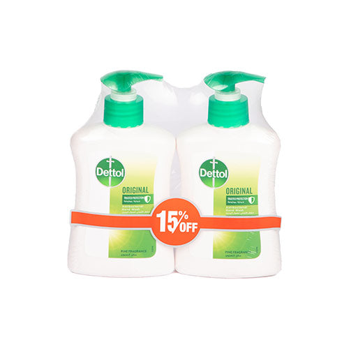 Dettol Original Hand Soap | 200ML | Twin Pack