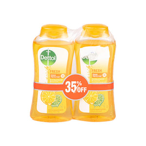 Dettol Shower Gel Fresh | 250ML | Twin Pack