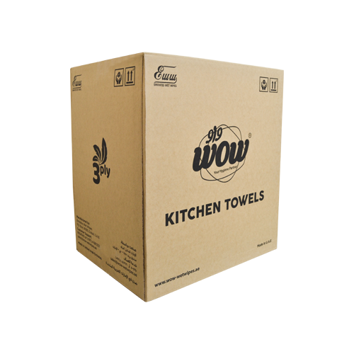 Wow Kitchen Roll 3+1 Free | Pack of 6