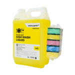 Offer Pack Dishwash Liquid M3 Lemon + Schafft pack of 5