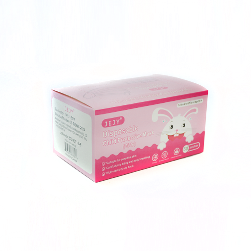 Kids Face Mask Pink (50pcs/Box)