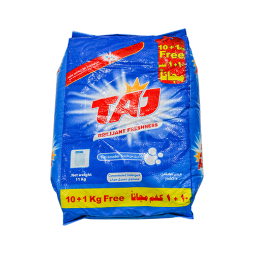 Load image into Gallery viewer, Taj Laundry Detergent | 10+1kg Free | High Foam