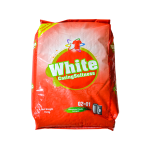White Laundry Detergent 2 in 1 | 15kg