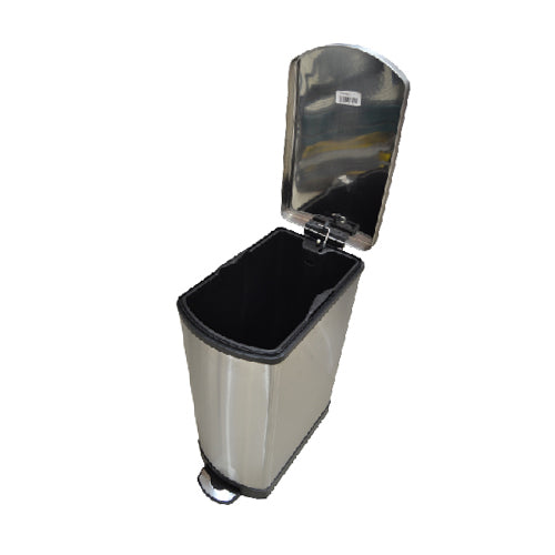 Soft Close Stainless Steel Dustbin with Pedal | 35L