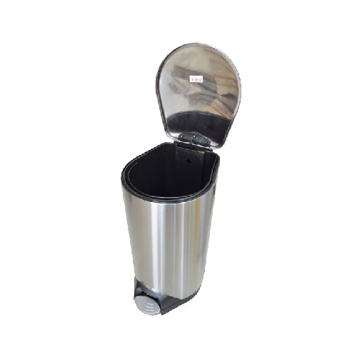 Soft Close Stainless Steel Dustbin with Pedal | 50L