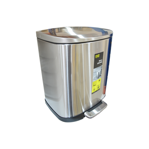 Eko Stainless Steel Step Dustbin Della | 20L