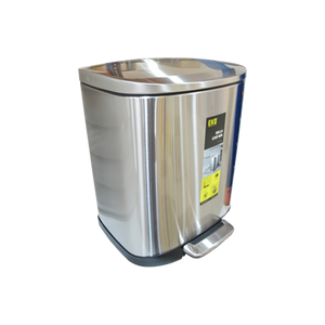 Load image into Gallery viewer, Eko Stainless Steel Step Dustbin Della | 20L