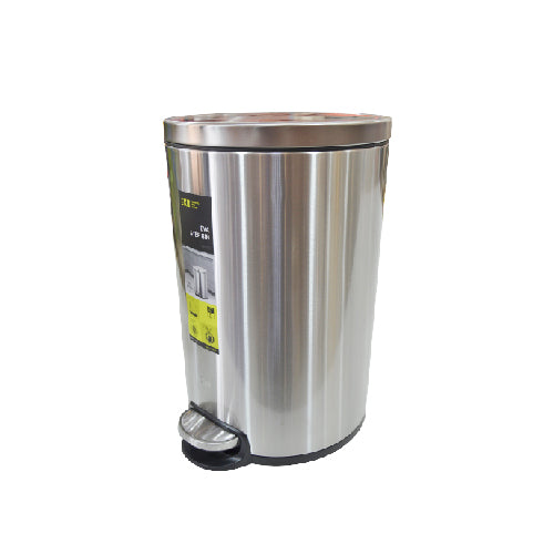 Eko Stainless Steel Step Dustbin Eva | 20L