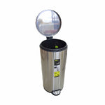 Eko Stainless Steel Step Dustbin Eva | 30L