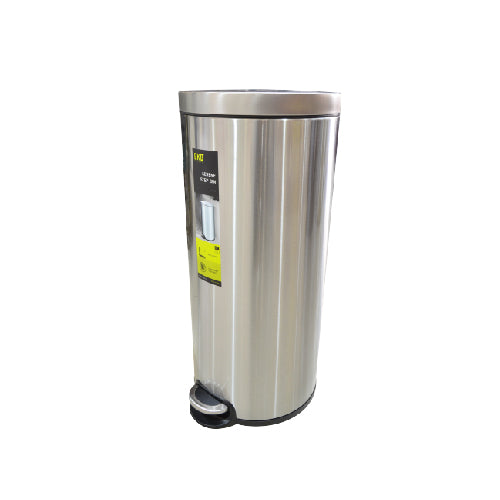 Eko Stainless Steel Step Dustbin Serene | 30L
