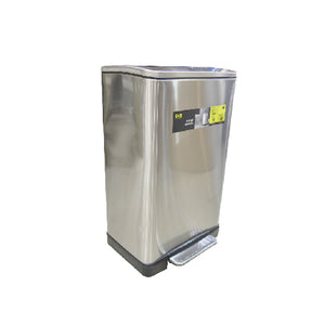 Load image into Gallery viewer, Eko Stainless Steel Step Dustbin Cube | 40L