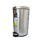 Eko Stainless Steel Step Dustbin Serene | 20L