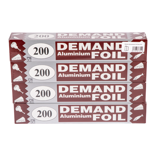 Demand 200 Aluminium Foil | Pack of 4