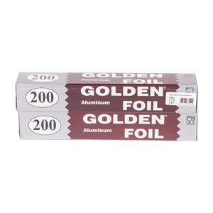 Load image into Gallery viewer, Golden 200 Aluminum Foil | Pack Of 2