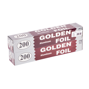Golden 200 Aluminum Foil | Pack Of 2