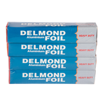 Delmond Blue Aluminium Foil Heavy Duty | Pack of 4