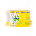 Dettol Antibacterial Wipes | Fresh | Pack of 5
