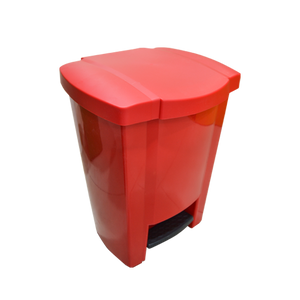 Garbage Can with Pedal 18L | Red
