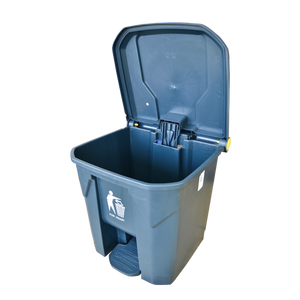 Garbage Can with Pedal 30L | Grey