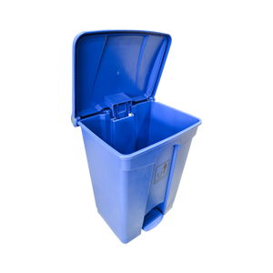 Garbage Can with Pedal 68L | Blue