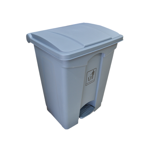 Garbage Can with Pedal 68L | Grey