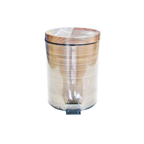 Wooden Dustbin 5L