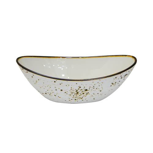 "Load image into Gallery viewer, Ceramic Boat Shape Bowl 8"" WT"
