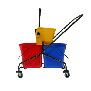 Mop Bucket Double Stainless Steel