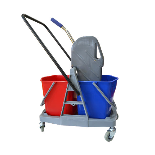 Load image into Gallery viewer, Mop Bucket Double Trolley 34L