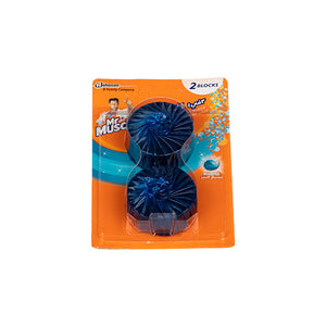 Load image into Gallery viewer, Mr. Muscle Toilet 3 in1 Tank Block Marine | 2X50G