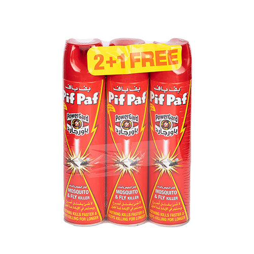 Pif Paf Fly & Mosquito Killer (2+1 Free) | 400ML