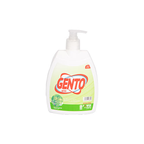 Gento Antibacterial Hand Soap | Green 500ML