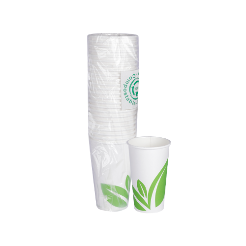 Paper Cups White 16OZ | Pack of 25