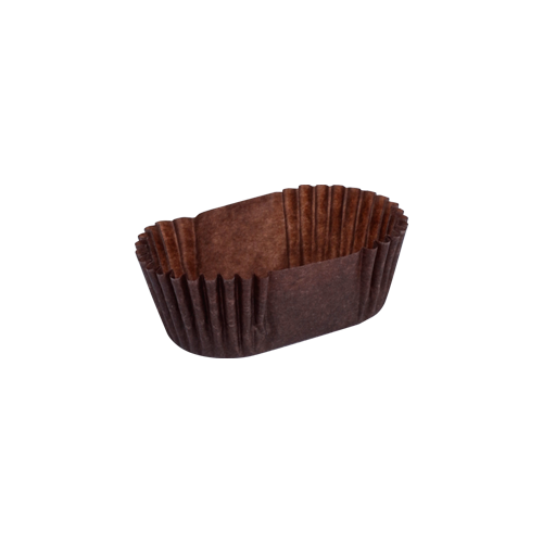 ST Oval Cake Cup Brown | Pack of 1000