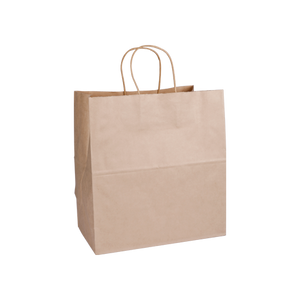 Twisted Handle Kraft Bag H30XW28XB16CM | Pack of 25