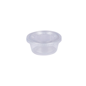 Load image into Gallery viewer, ST Souffle Cup Trans PP 3 OZ with Lids | Pack of 100