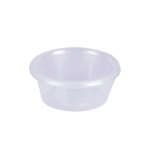 UNI Microwave Container Round 250 CC (10 OZ) | Pack of 20
