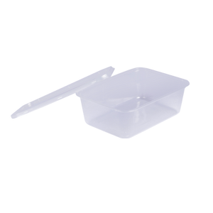 Microwave Container Rectangle 750 CC | Pack of 20