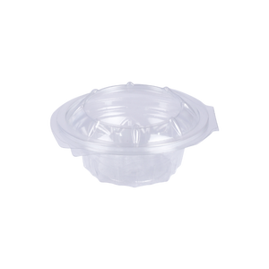 Round Hinged Salad Bowl 150ML | Pack of 10