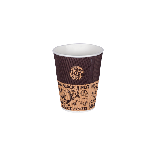 Ripple Paper Cup 12oz | Pack of 25