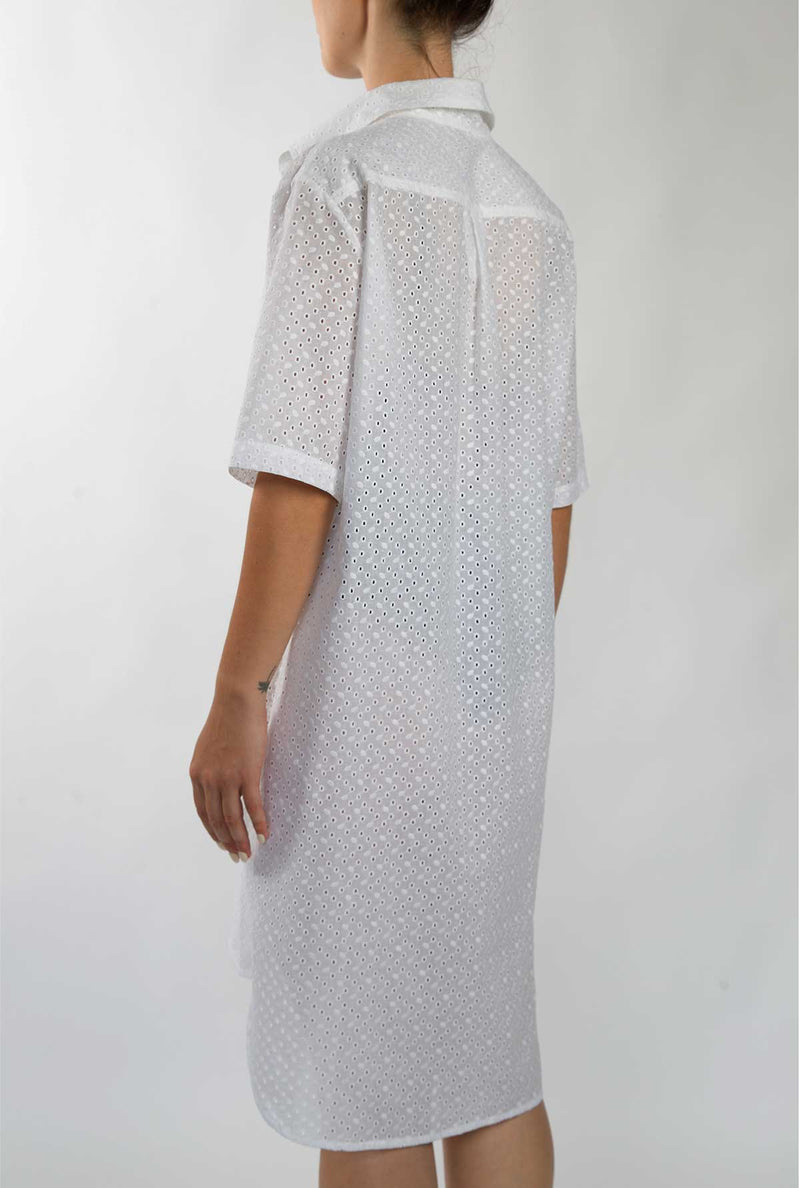 sangallo shirt dress made in italy
