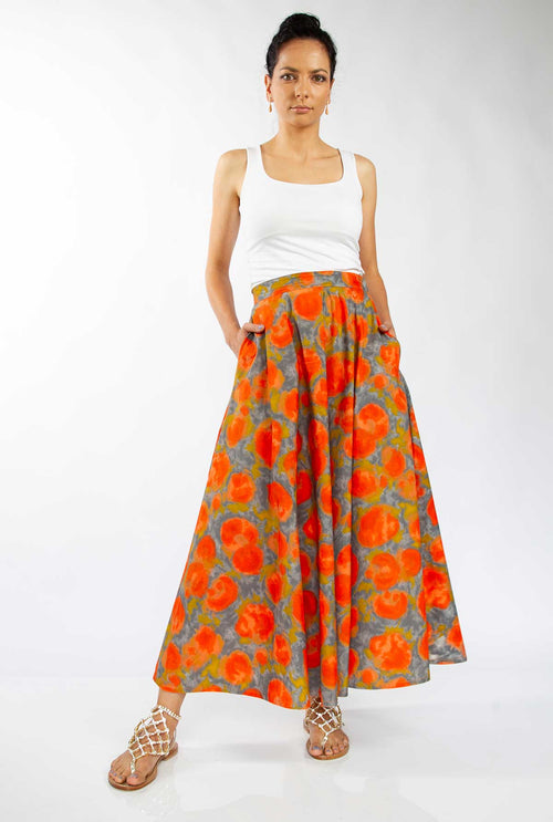 cotton maxi skirt australia