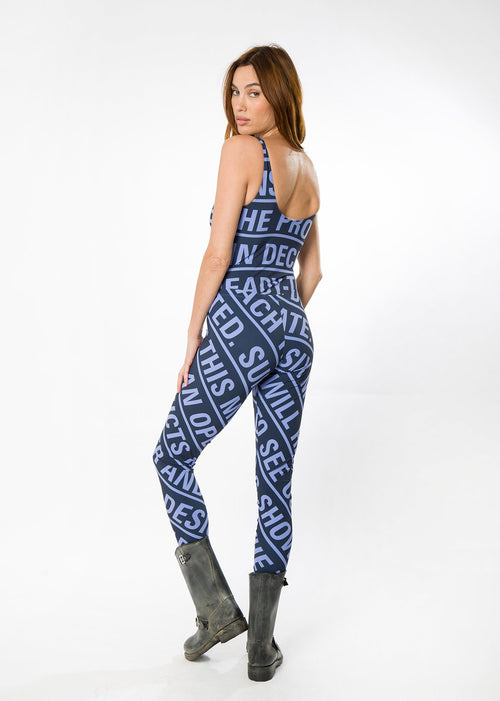 Blue Breeze Leggings